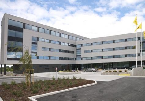 Welltec fasadeplater levert av Alunor Metall AS